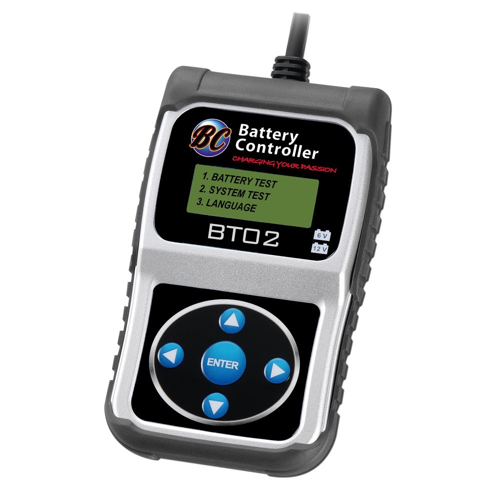 BC Battery Controller 700-BT-01 Tester Batterie, 12V 200/1200 CCA Forelettronica Srl