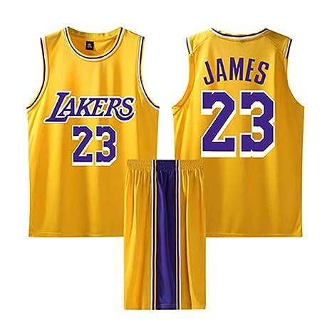Hombres Adultos Baloncesto Jersey-Lebron James 23# Elementary ...
