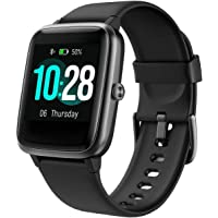 Fitpolo Fitness Tracker, Smart Watch Step Trackers with Heart Rate Monitor, IP68 Waterproof 1.3 Inch Color Touch Screen…