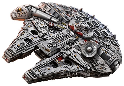 LEGO Star Wars Ultimate Millennium Falcon 75192 Building Kit (7541 Pieces)