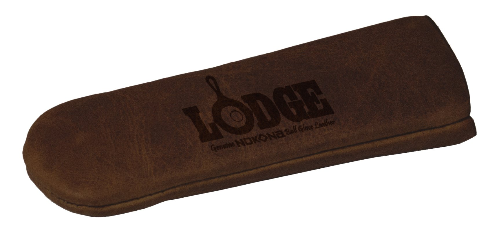 Lodge ALHHNS85 Nokona Leather Hot Handle Holder, Coffee