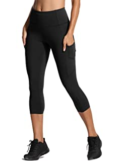 f42d148852de8 CRZ YOGA Women's Naked Feeling High Waisted Tight Training Yoga Leggings  with Side Pocket ...