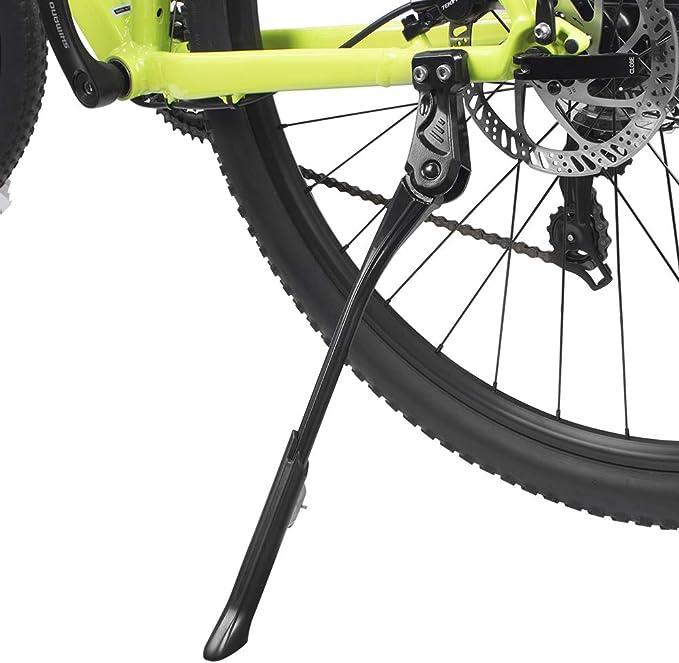 "Bike Center Kickstand MTB Adjustable Side Stand Alloy 24"" 26"" 28"" 29"" BLK CLKA99"