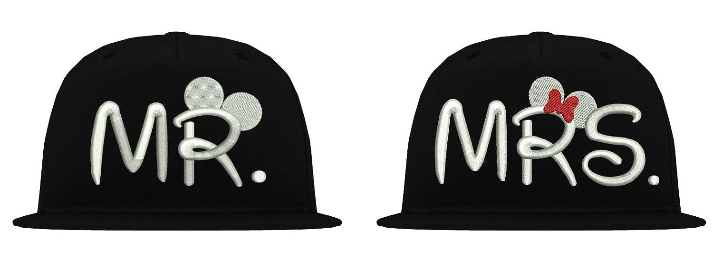 b610 TRVPPY 5-Panel Snapback Cap Casquette mod/èle Mr /& Mrs Mickey Mini diff/érentes Couleurs