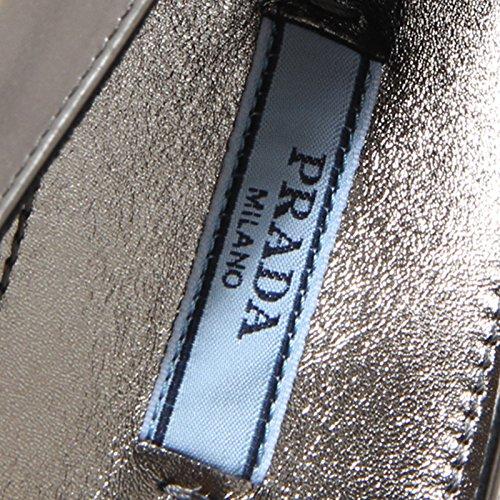 8297I PRADA ballerina scarpa donna shoes woman grigio antracite grgio antracite