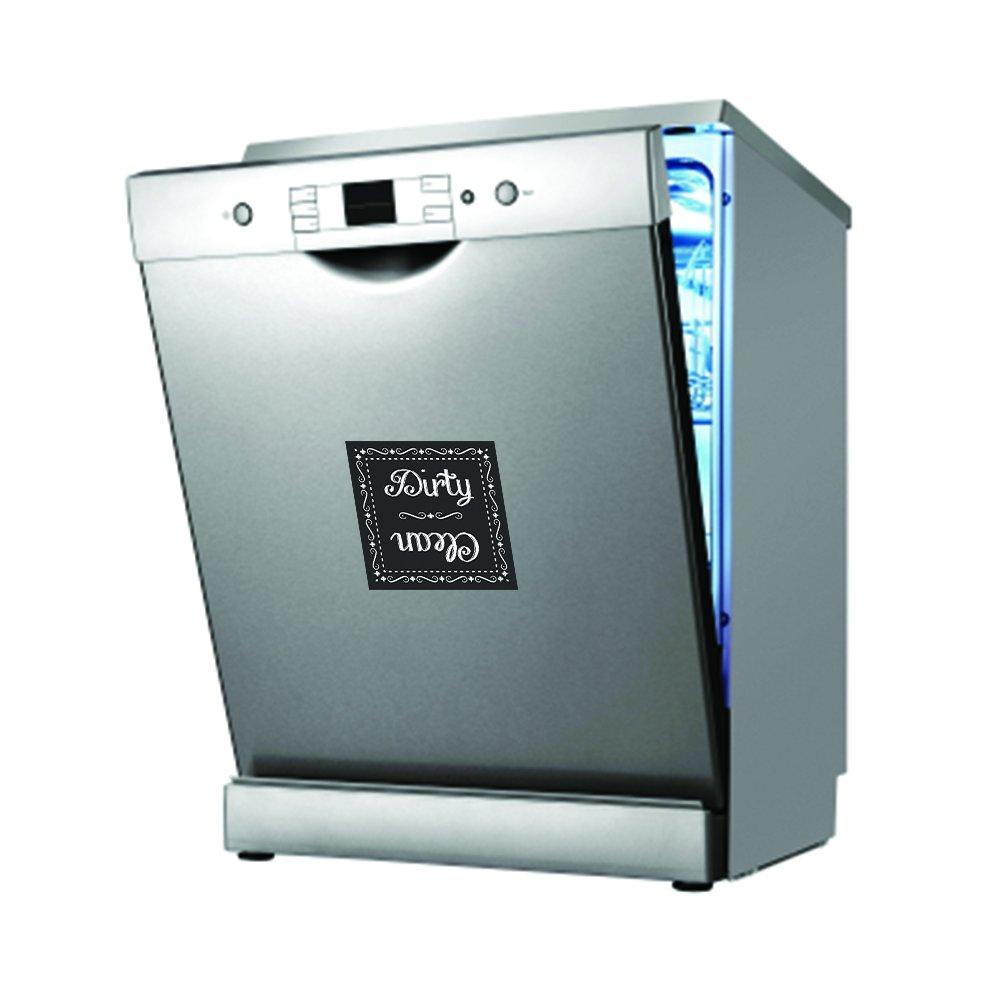 Amazon.com: Flexible Magnets Clean Dirty Chalkboard Dishwasher ...