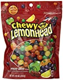 sour candy mix - Lemonhead & Friends Chewy Candy, Fruit Mix, 10 Ounce Bag, Pack of 6