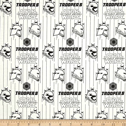 CAMELOT Fabrics Star Wars The Force Awakens Storm Troopers W