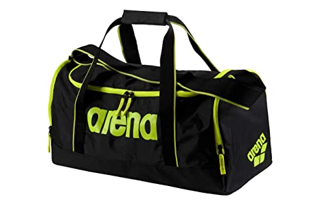 1333b2e65d45 Amazon.com: arena Spiky 2 Medium Swim Gear Duffle Bag, Fluo Yellow ...