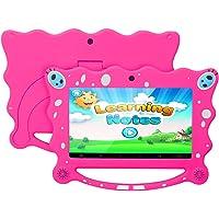 """Ainol 7C08 Tableta para Niños, Sistema Android 7.1, 1GB de RAM + 8GB de ROM, Pantalla IPS de 7 """", Resolución de 1024*600 Píxeles, Facilitando Educación y Entretenimiento para Niños, Color Rosa"""