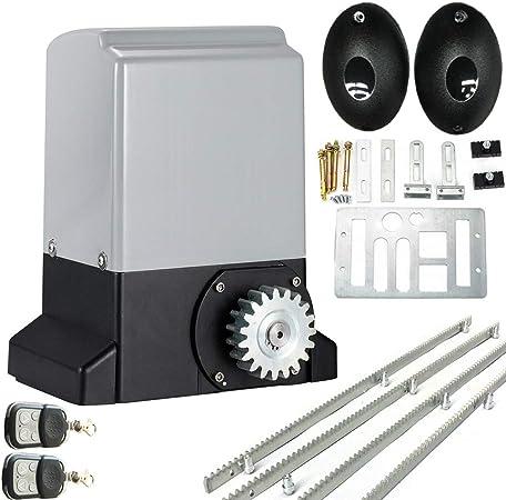 Lfhelper abridor de puerta deslizante automático con interruptor de límite magnético para puerta corredera automática: Amazon.es: Hogar