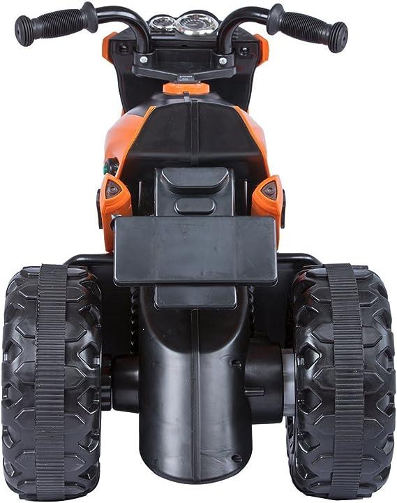 Baybee Damned GS-800 Battery Operated Sports Bike | Single Motor Ride On Bike with 20 Kg Weight Capacity Kids Bike / Bike for Kids / -- Orange