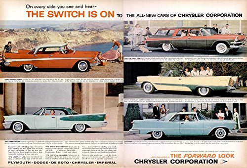 1957 CHRYSLER CORPORATION PLYMOUTH - DODGE - DE SOTO - CHRYSLER - IMPERIAL
