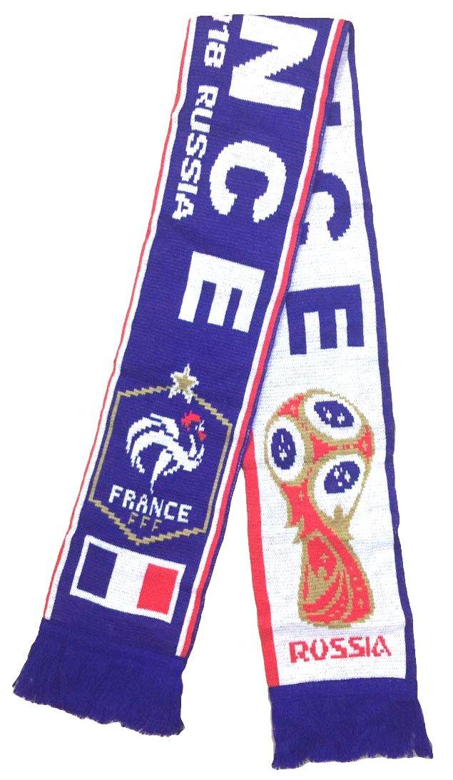 France Athletic Super Fans Football Jacquard Scarf - Multicoloured OneSize