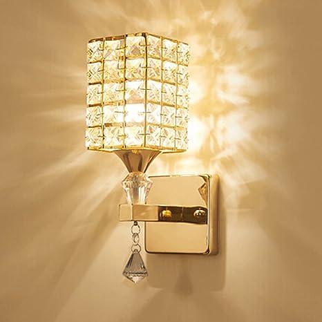 Hjz Moderna Lampada Da Parete In Cristallo Lampada Da Parete Camera