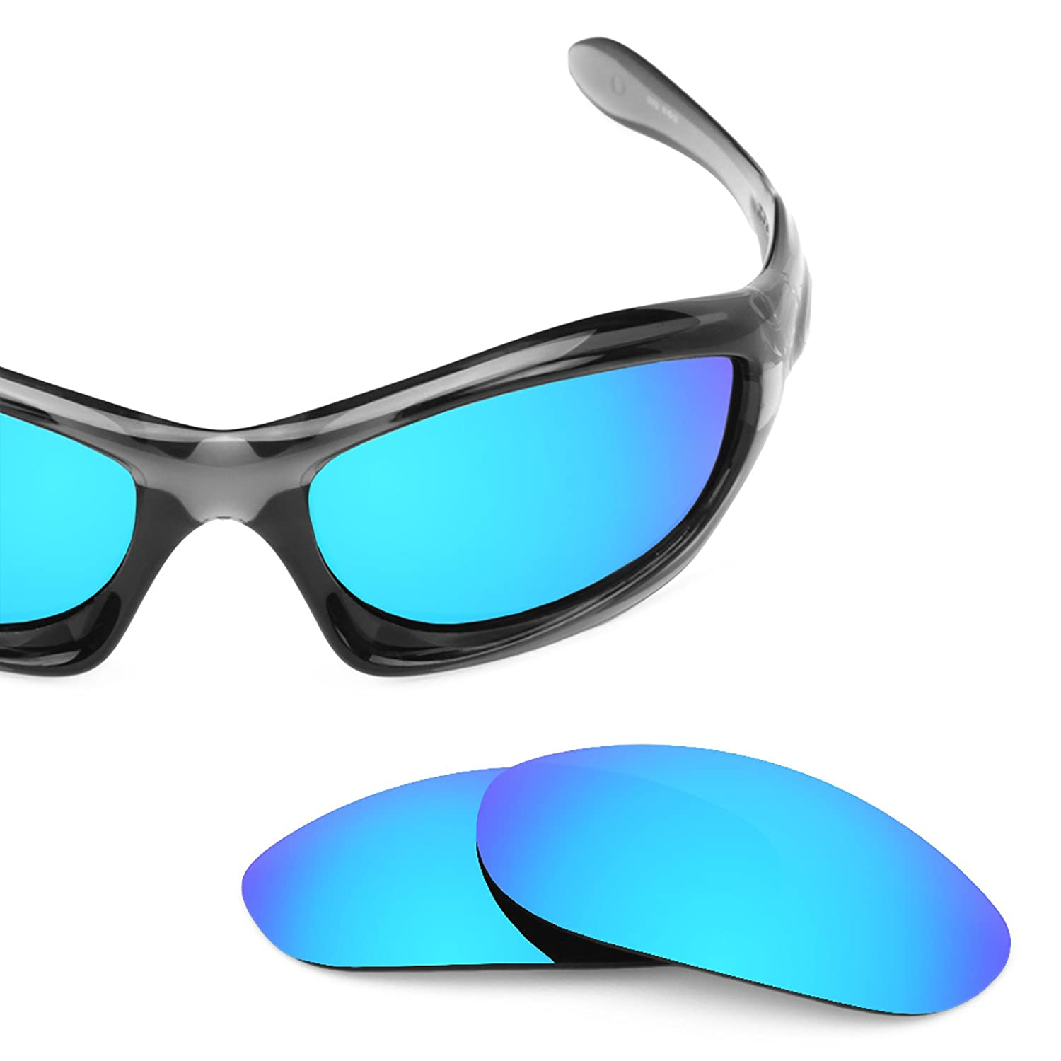 501004353af Revant Replacement Lenses for Oakley Monster Dog 4 Pair Combo Pack K018   Amazon.co.uk  Clothing