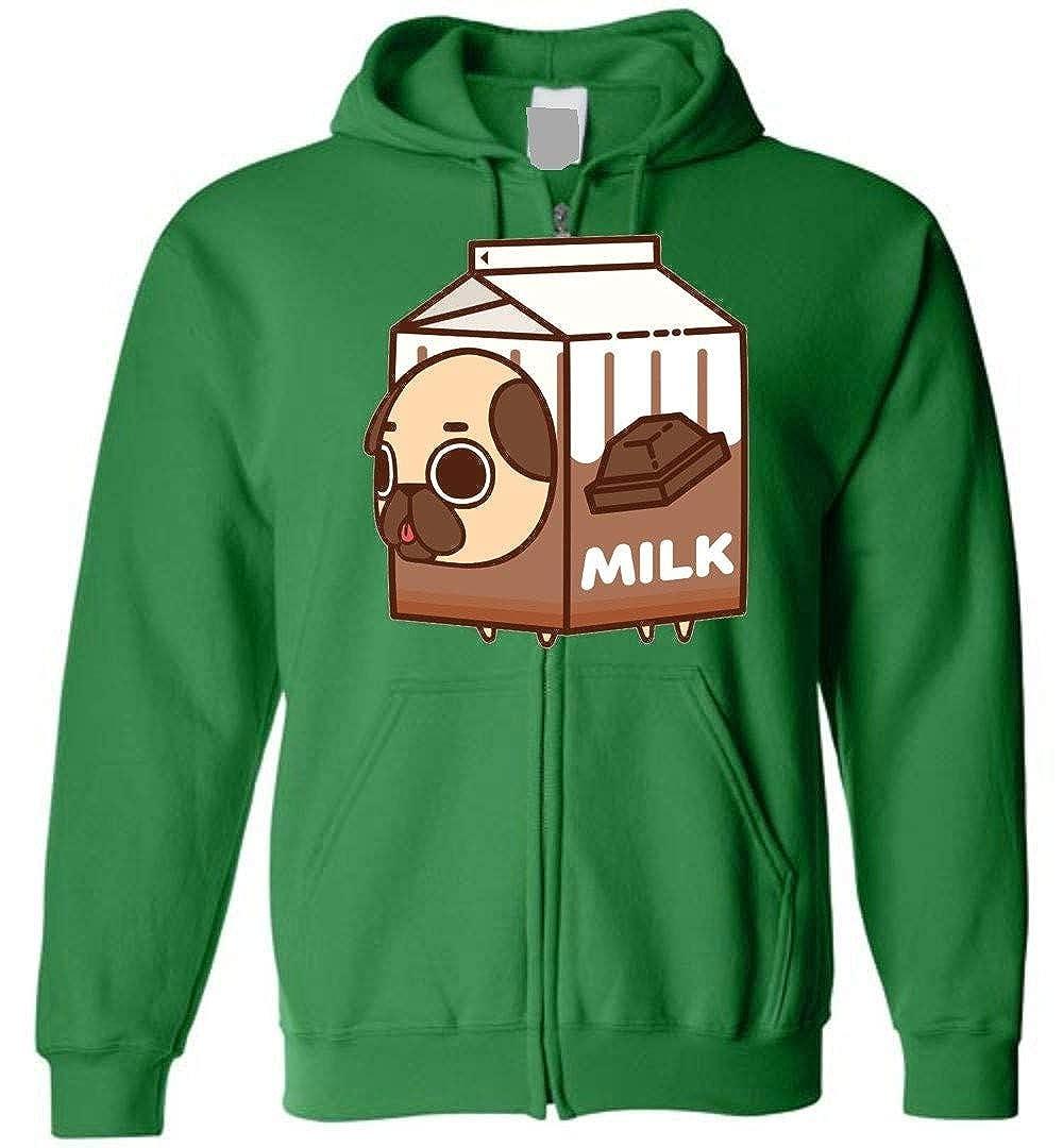 TSHIRTAMAZING Milk Dogs Zip Hoodie