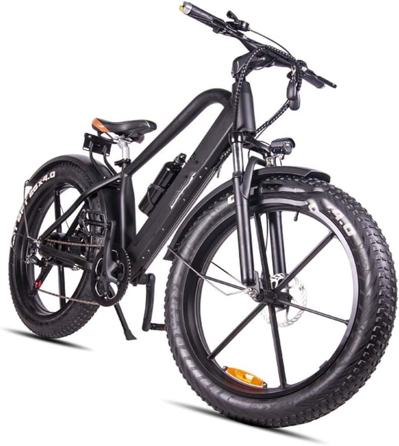 電気マウンテンバイク、超軽量マグネシウム合金6スポーク統合ホイールLCDディスプレイ(折りたたみ)を有する26インチ折りたたみE-バイク
