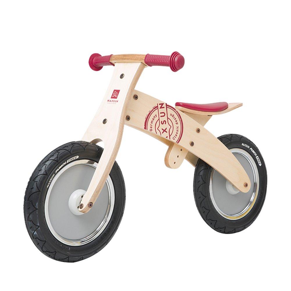 YANGFEI 子ども用自転車 木製幼児バランシングカー、ベビーウォーキングスクーター、木製スライド、子供用自転車 212歳 B07DWVF4CG Natural B Natural B