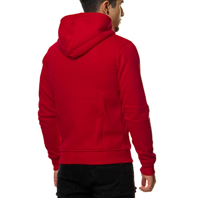Young Rich Herren Hoodie Long Oversized Zipper Sweatshirt Schwarz Weiß Grau  Anthrazit Rot Blau 901  Amazon.de  Bekleidung 29f98e2bec