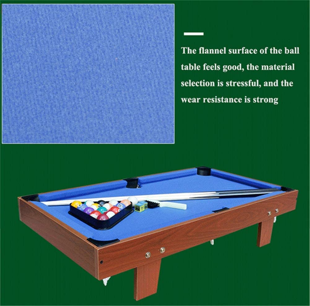 Lcyy-game Mesa de Billar con Patas. Incluye 2 Piezas de 48 ...