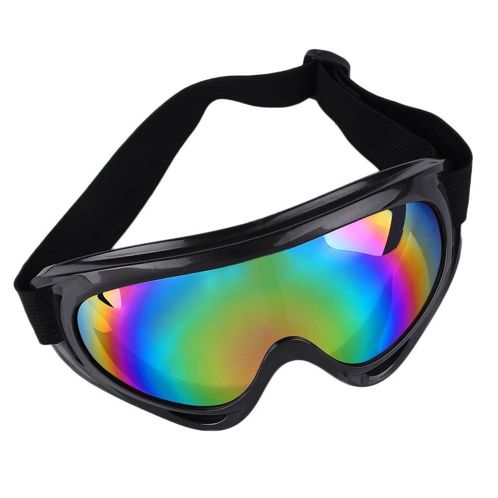 Beautyrain Mountaineer Ski Goggle Snowboard Lunettes de soleil Lunettes Anti UV coupe vent Tinted Lens Équipement protecteur PrAHeGuvBn