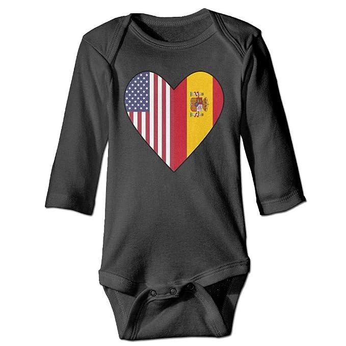 Amazon.com: Bañador de manga larga para bebé, diseño de ...