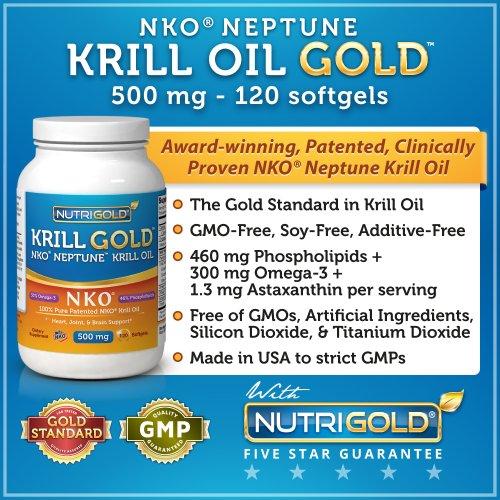 NKO Neptune Krill Oil GOLD, 500