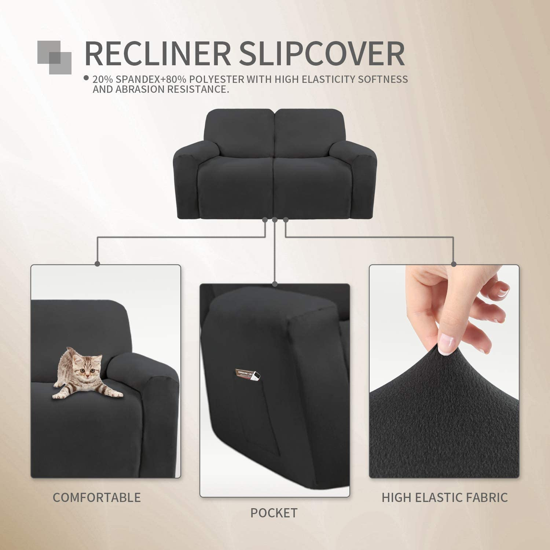 Easy-Going Recliner slipcover Bundles Recliner loveseat slipcover Bundles Recliner Sofa slipcover