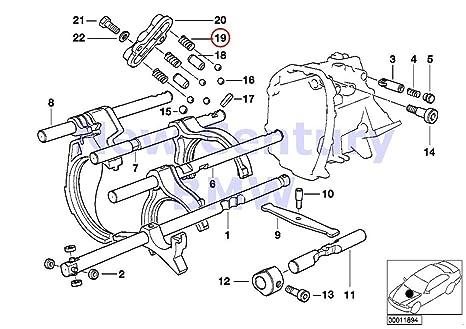 3 x bmw genuine individual transmission parts compression spring 525i 540i  318i 318is 318ti 320i 323i