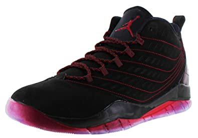 best authentic a0dd7 698c9 Image Unavailable. Image not available for. Color  Jordan Nike Men s  Velocity Black Gym Red Black Basketball Shoe ...