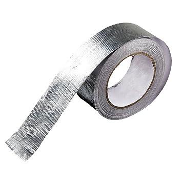 Baoblaze 1x Aluminium Reflektierendes W/ärmeschutzband Selbstklebende Isolierende Band
