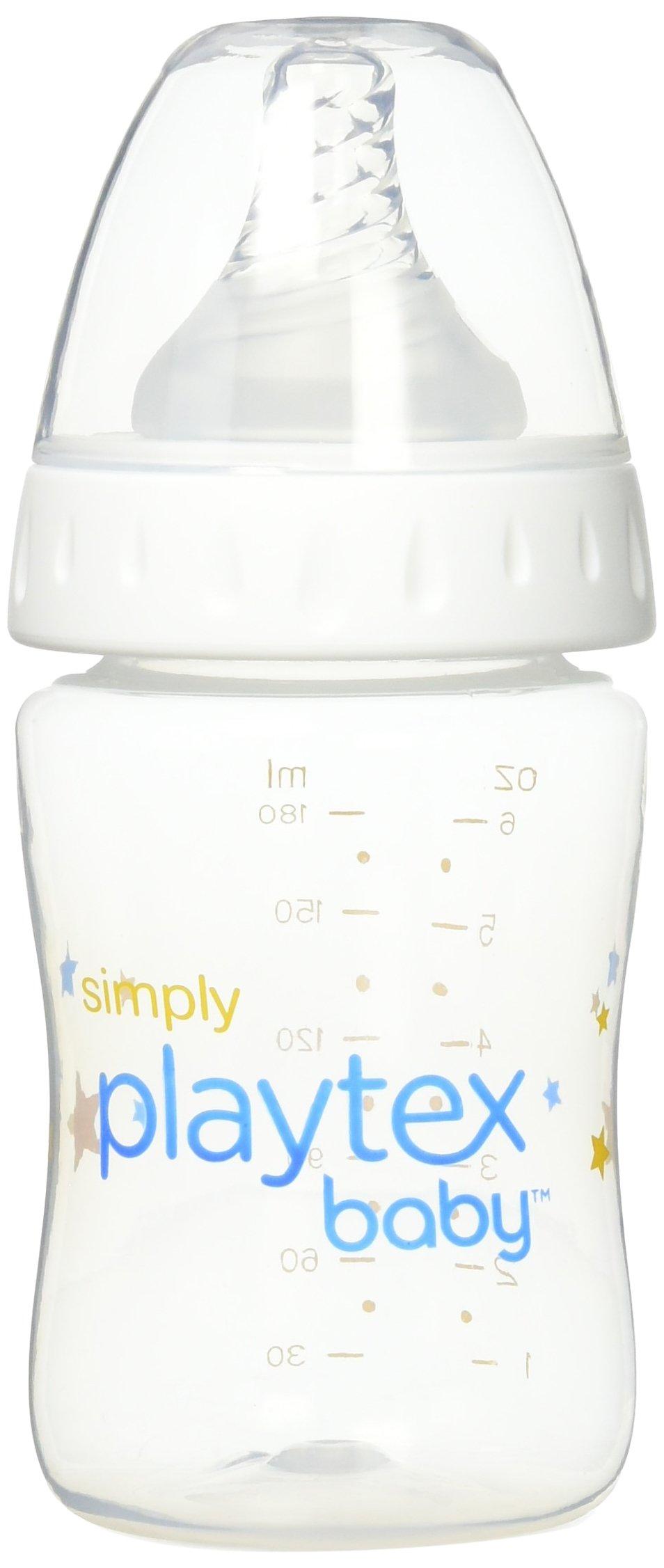 Amazon Com Simply Playtex Bpa Free Baby Bottle Nipples