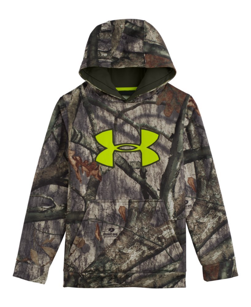 UA Boys Armour Fleece Scent Control Hoodie