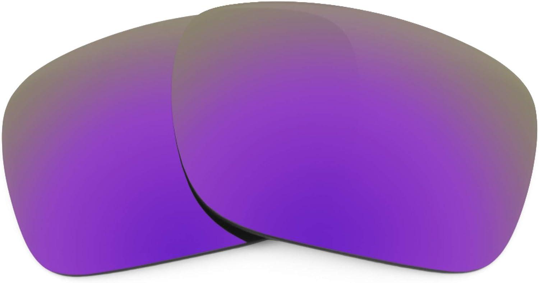 Revant Verres de Rechange pour Wiley X Nash - Compatibles avec les Lunettes de Soleil Wiley X Nash Violet Plasma Mirrorshield - Polarisés