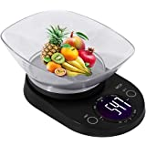 MCP Weighing Scale Digital for Kitchen Stainless Steel Household Electronic Food Weight Machine Kitchen Scale 5 kgs with Free Bowl