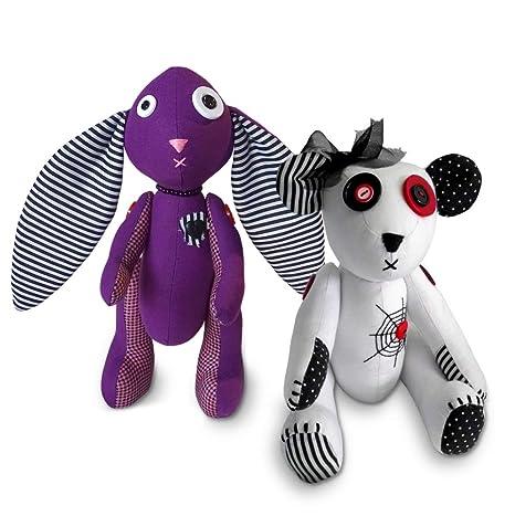 Bunny Rabbit// Teddy Bear// OWL// Rag Doll// Soft Toy Fabric Sewing PATTERN EASY