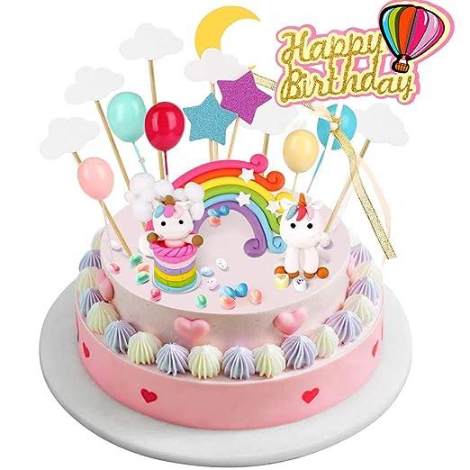 joyoldelf Cake Toppers - Decoración para Tartas de ...