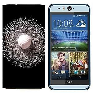 - Golf Ball Sport Tiger - - Caja del tel???¡¯????fono delgado Guardia Armor FOR HTC Desire EYE M910x Devil Case