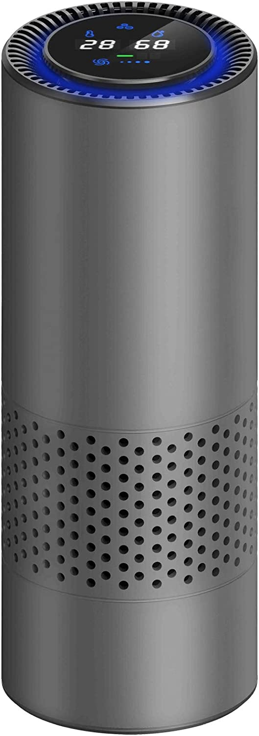 Car Air Purifier with HEPA Filter,Air Purifier with HEPA Filter for RV's, Rooms Car