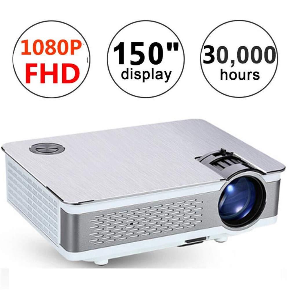 Proyector Portátil Cine En Casa Cine TV LCD Led 1080P Full HD HD ...