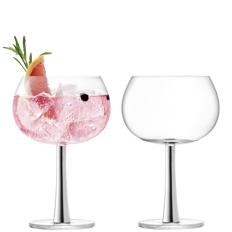 LSA International Balloon Glass, Platinum, 420 ml G1389-15-359