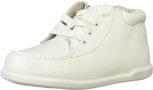 Smart Step Boys White Lace Up Closure