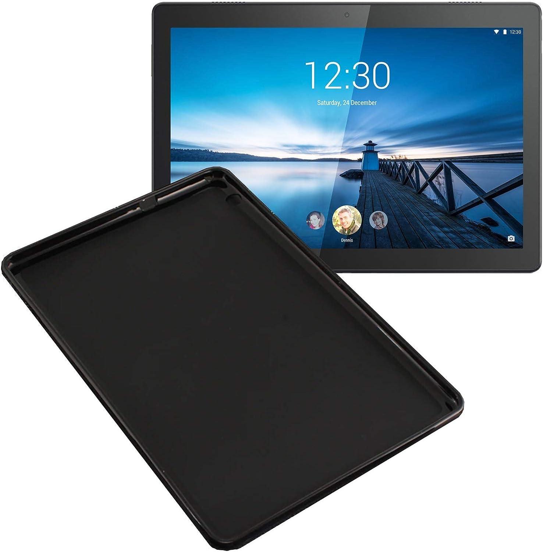 Case for Lenovo Tab P10 TB-X705F 10.1 Inch Ultra Slim Shock Proof Soft Cover Black