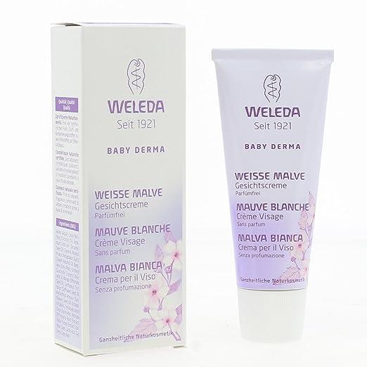 24 opinioni per WELEDA WLD00080 Baby Derma Malva Bianca Crema per il Viso e per la pelle secca