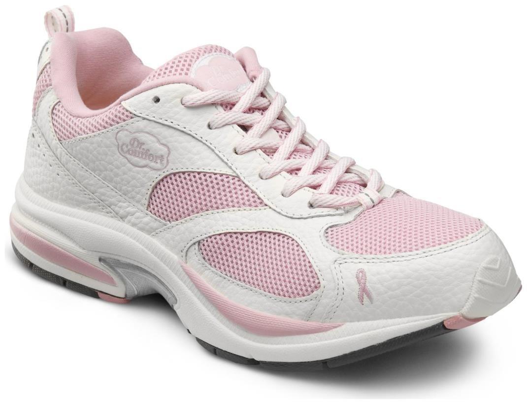 Dr. Comfort Women's Victory Plus Pink Diabetic Athletic Shoes
