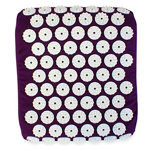 - White Lotus Anti Aging Acupressure Pillow, Winner Best Acupressure Mat Set Vergleich.org 2018, The Acupuncture Pillow Gives Stress Relief And Relieves Sleep Problems, Memory Foam & Non Allergenic Dyes