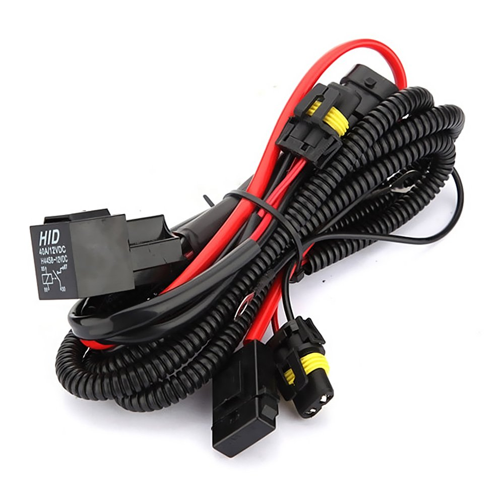 9006 Hb4 Hid Xenon Relay Harness Solves Issues With Poor Find This Product Under 40a 12v Dc Fuse Wire Wiring Electrical Systems Automotive