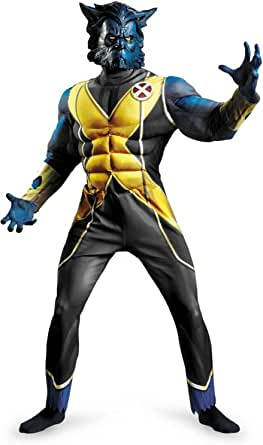Disguise Inc - X-Men First Class - Beast Adult Costume - X-Large (42-46)