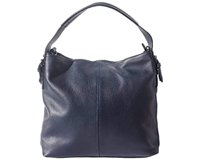 FLORENCE LEATHER MARKET Borsa sportiva Spontini in vera pelle di vitello 5757 Borse in pelle